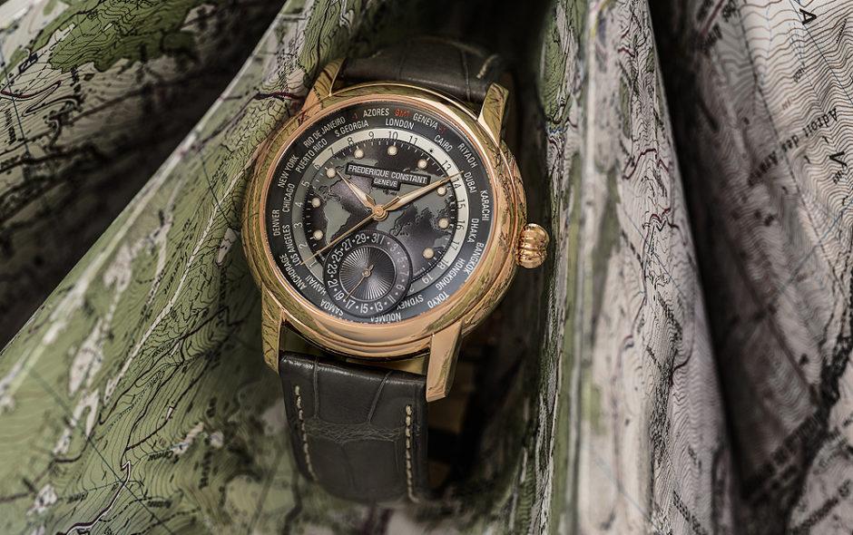 Ρολόι Frederique Constant Classic Worldtimer