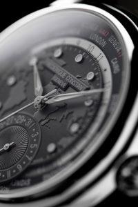 Ρολόι FredriqueνConstant Classic Worldtimer dial