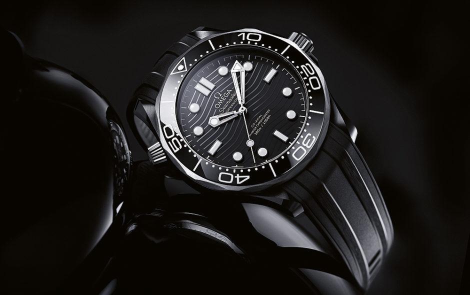 Omega Seamaster Diver 300M σε μαύρο κεραμικό