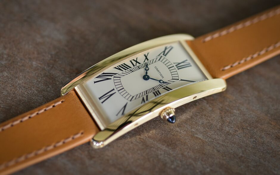 Cartier Tank Cintrée Limited Edition, 100η επέτειος