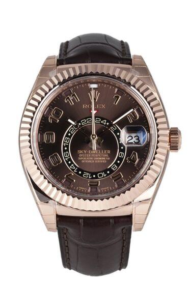 Rolex sky dweller 326135 chocolate