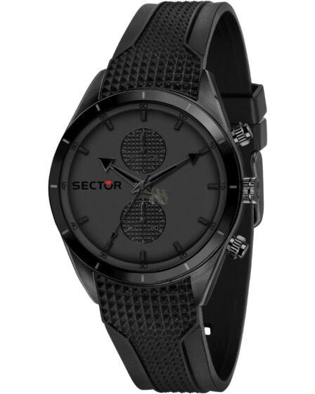 SECTOR 770 Chronograph Black Silicone Strap R3251516002