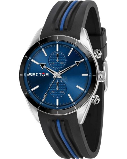 SECTOR 770 Chronograph Two Tone Silicone Strap R3251516004