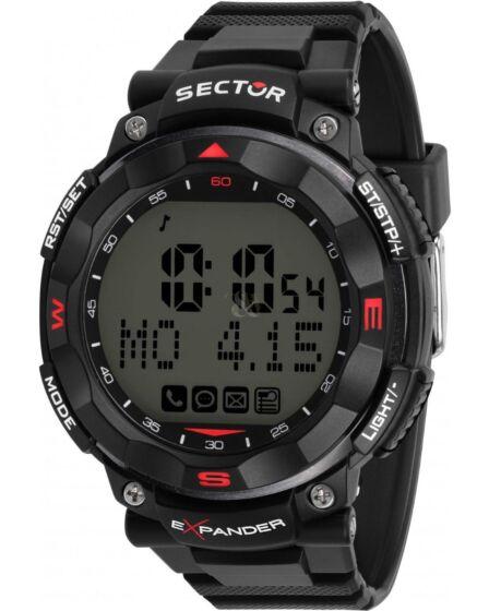 SECTOR EX-01 Chronograph Black Plastic Strap R3251529001