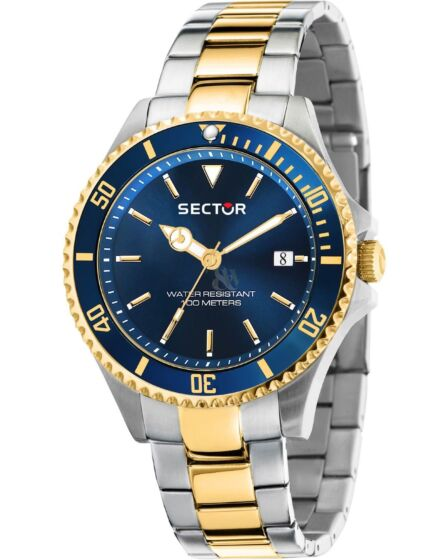SECTOR 230 Two Tone Stainless Steel Bracelet R3253161015