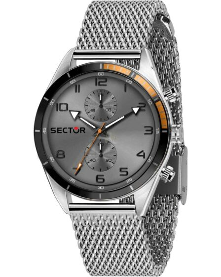 SECTOR 770 Chronograph Silver Stainless Steel Bracelet R3253516005