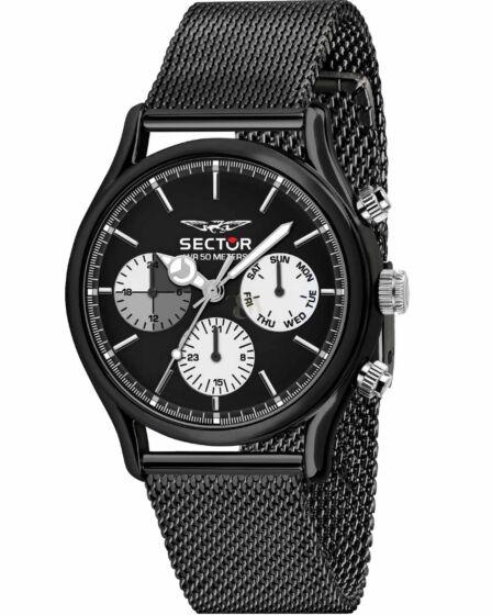 SECTOR 660 Black Stainless Steel Bracelet R3253517003