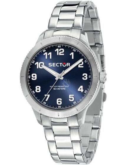 SECTOR 270 Silver Stainless Steel Bracelet R3253578014