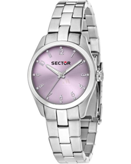 SECTOR 270 Crystals Stainless Steel Bracelet R3253578504