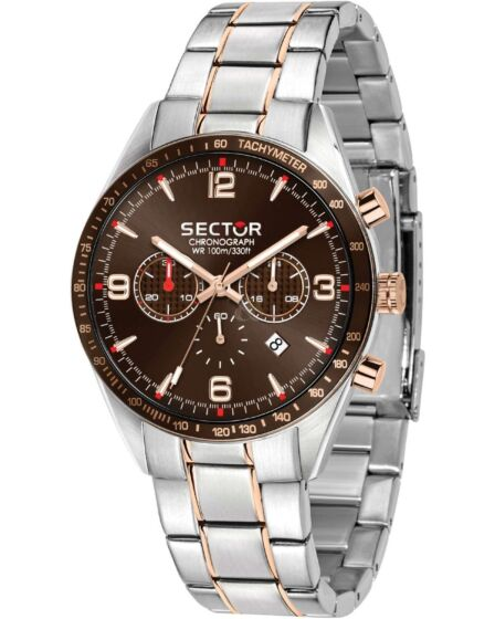 Sector 770 Chronograph Silver Stainless Steel Bracelet R3273616002