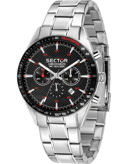 SECTOR 770 Chronograph Silver Stainless Steel Bracelet R3273616004