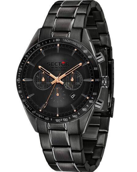 SECTOR No Limits Black Stainless Steel R3273623001