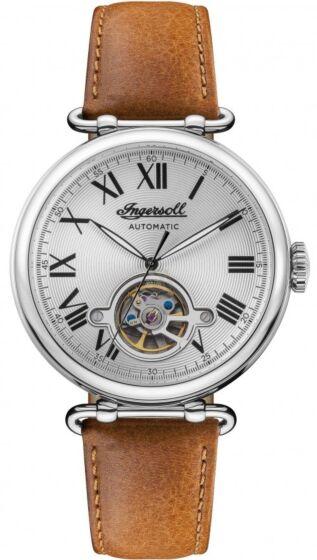 INGERSOLL Protagonist Automatic Brown Leather Strap I08901