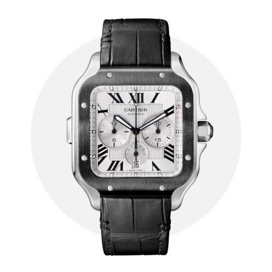 Cartier santos chrono WSSA0017