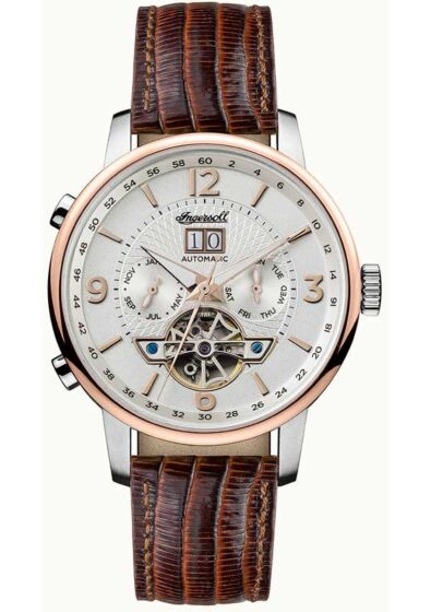 INGERSOLL Grafton Automatic Brown Leather Strap I00701