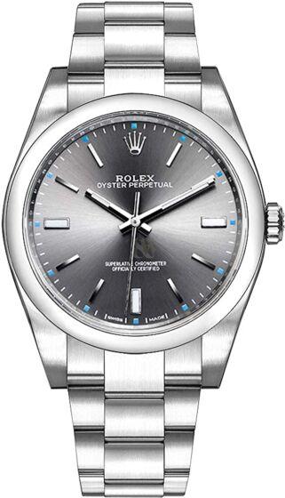 Rolex 114300 rodium 39mm