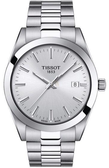 TISSOT Gentleman Silver Stainless Steel Bracelet T127.410.11.031.00