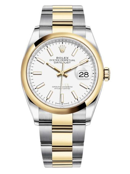 Rolex Datejust 36 White Dial 126231