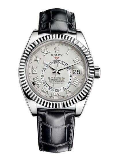 Rolex SKY-DWELLER Black Dial 326139